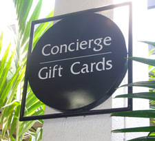 Bal Harbour Shops Store Identification Sign